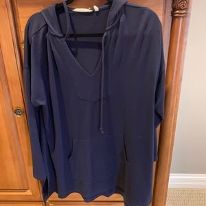 Long sleeve lightweight hoodie